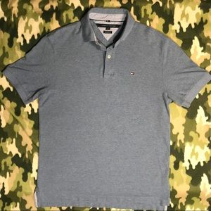 Tommy Hilfiger Mens Knit polo Classic fit -M